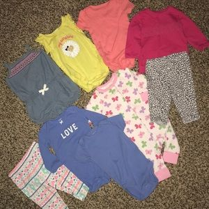 💛Girls 6 month Lot of clothes ⭐️